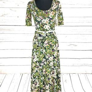 Beautiful Floral LuLaRoe Ana Dress XS